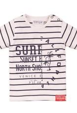 Dirkje SP21 B Surf Up Stripe T-Shirt