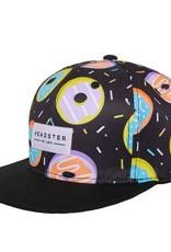 Headster Kids Duh Donut Black Ball Cap