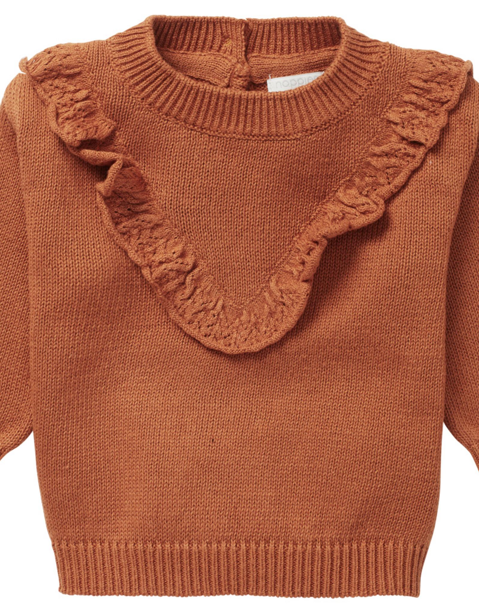 Noppies SP21 BbyG Brown Magrath Sweater