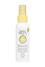 SunBum Baby Bum SPF50 Mineral Spray 3oz
