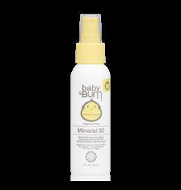 SunBum Baby Bum SPF50 Mineral Spray 3oz
