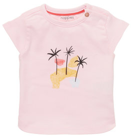 Noppies Nop SP21 BbyG Pink Medulla T-Shirt