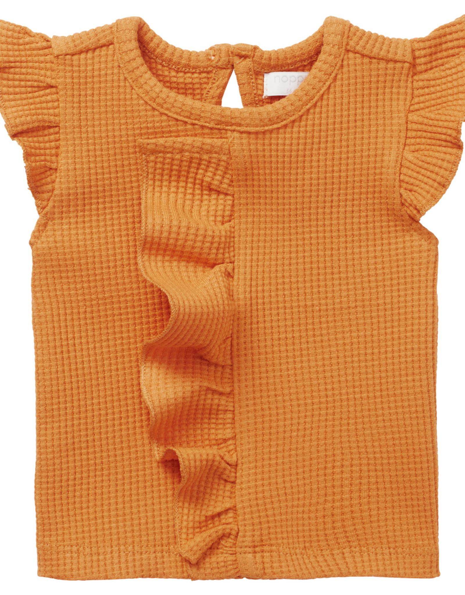 Noppies SP21 BbyG Ruffled Merial T-Shirt