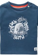 Noppies SP21 BbyB Blue Twisk T-Shirt