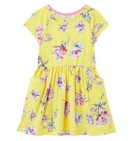 Joules SP21 G Yellow Floral Dress