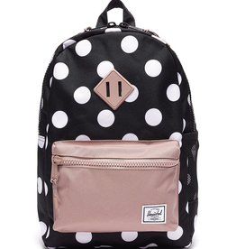 Herschel Supply Co. SP21 PolkaDot /Rose Heritage Youth Backpack