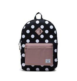 Herschel Supply Co. SP21 PolkaDot /Rose Heritage Yth XL Backpack