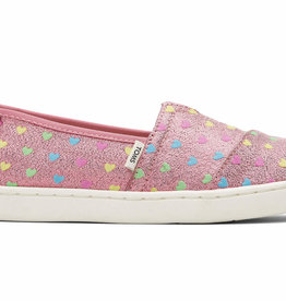 TOMS SP21 Youth Glimmer Hearts