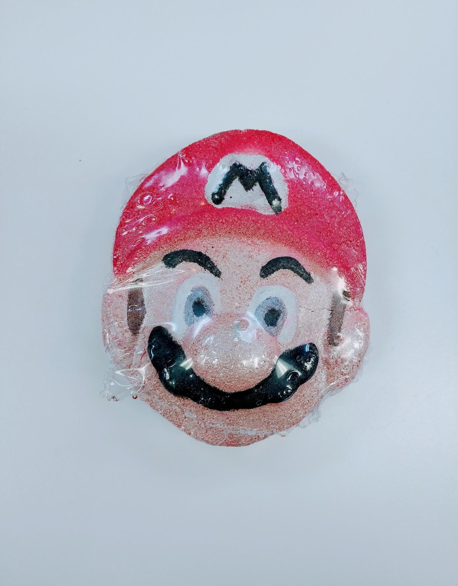 Pink Bubble Bath Co Mario Bath Bomb