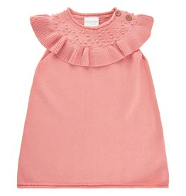 MinyMo SP21 BbyG Peach Knit Dress