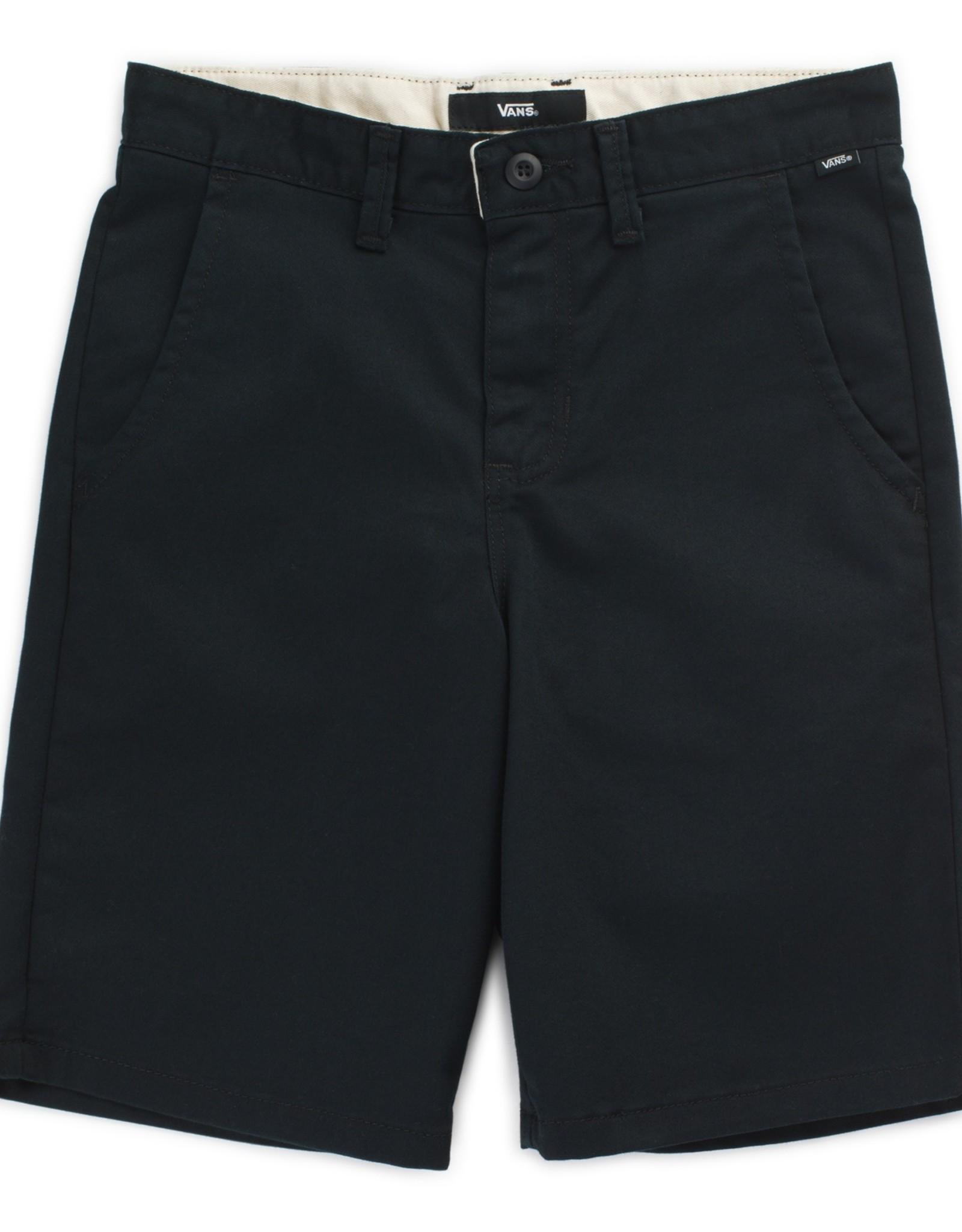 Vans SP21 YthB Black Auth Stretch Shorts