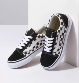 Vans Old Skool Primary Checkerboard Blk/Wht Lace