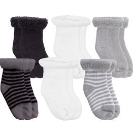 Kushies Terry Socks 0-3Mth