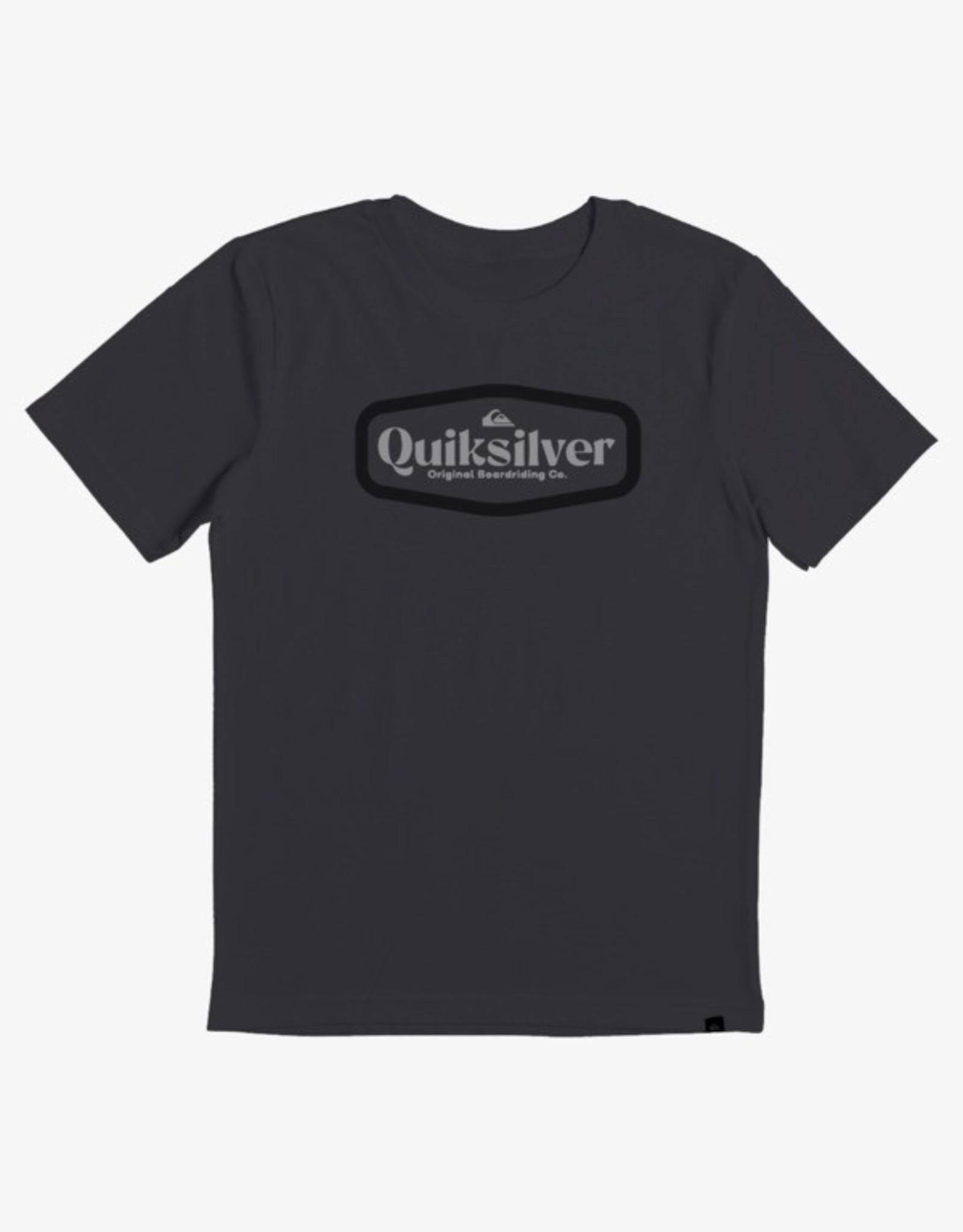 Quiksilver FA21 B New Theory Tee Grey