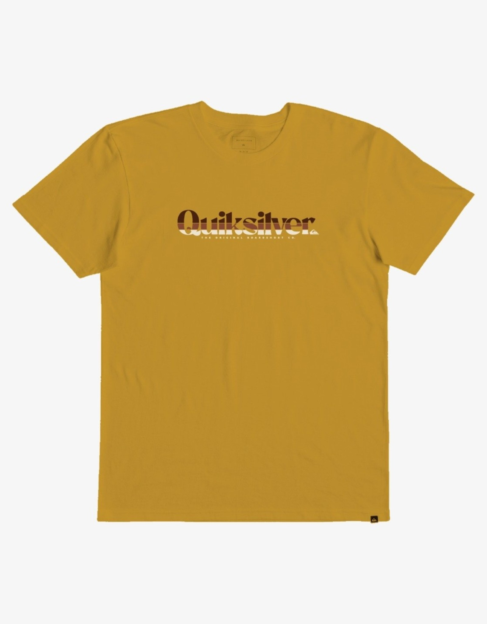 Quiksilver FA21 B Primary Colours Tee Gold