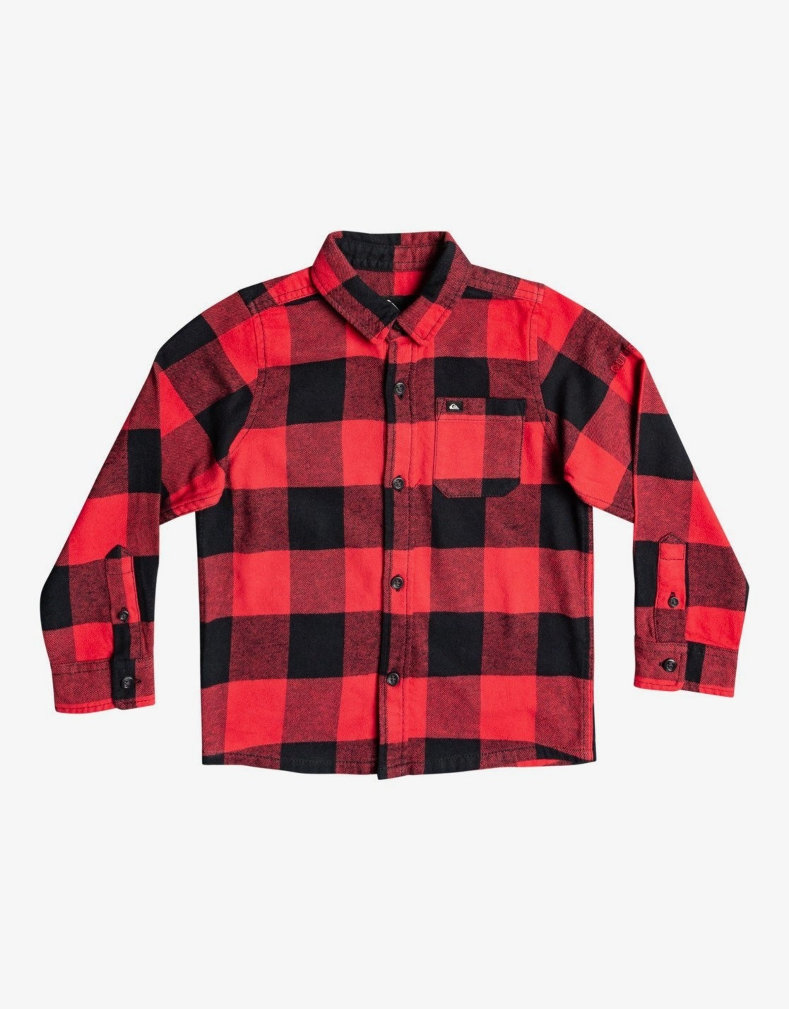 Quiksilver FA21 B Motherfly Flannel LS Red