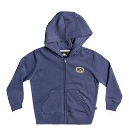 Quiksilver FA21 B Big Q Zip Hoodie Blue