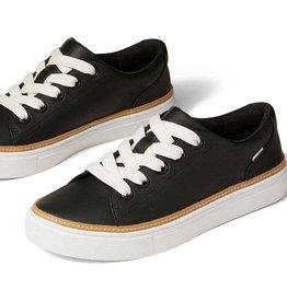 TOMS FA21 WMN Alex Black Leather Sneaker
