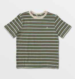 Volcom FA21 Halfax Stripe Crew T-Shirt