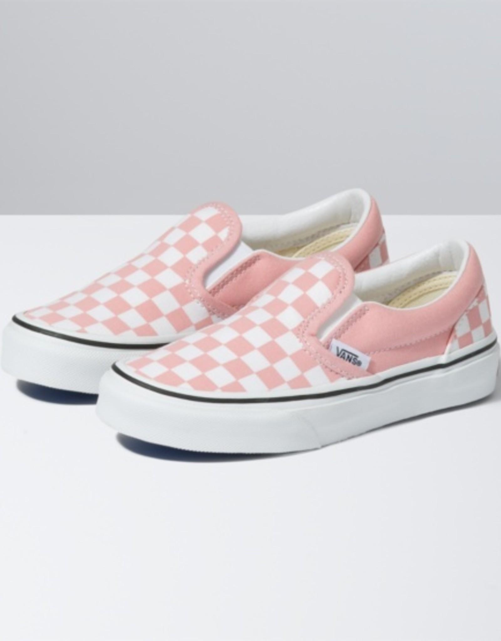Vans Slip-On V Checkerboard Pink