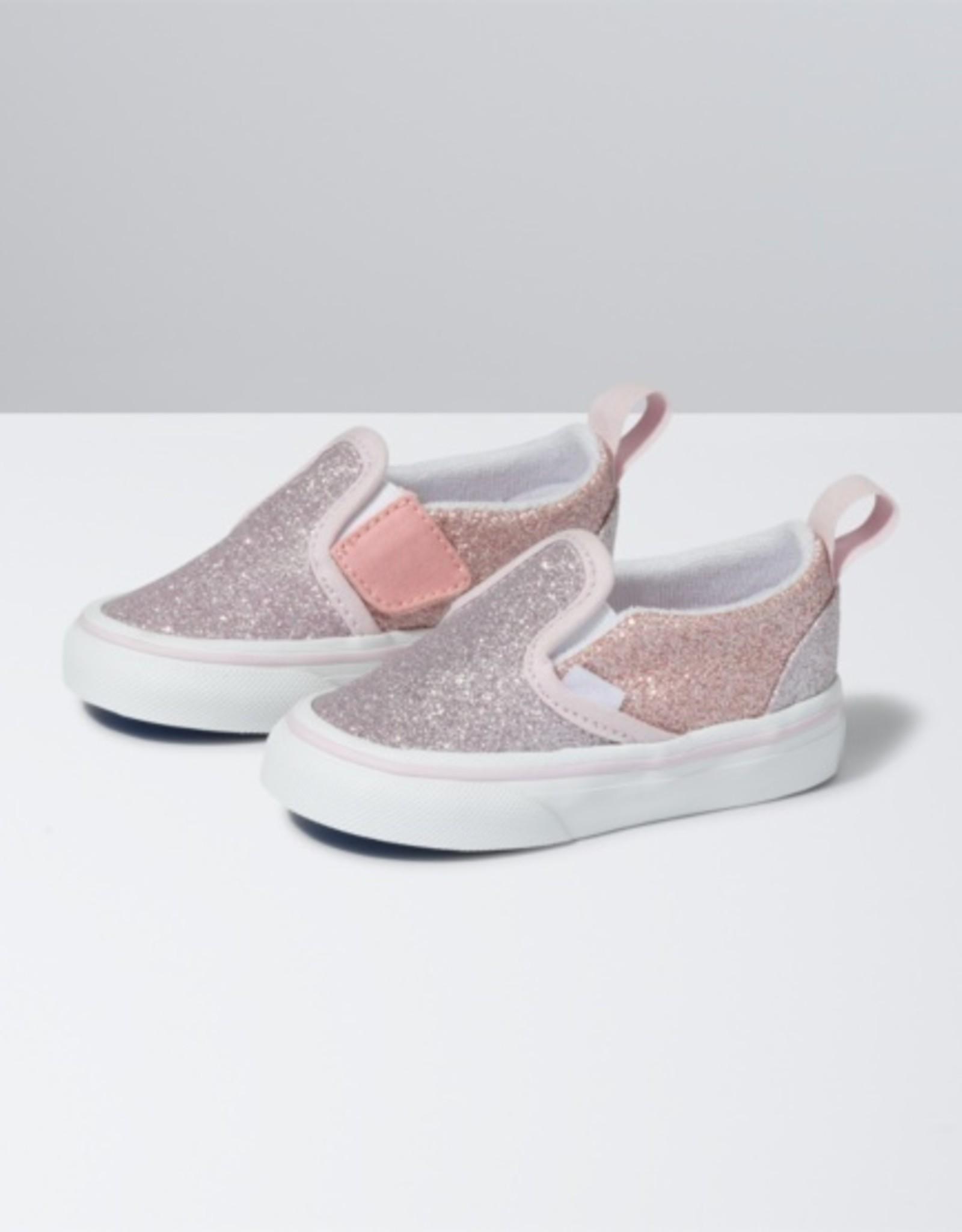 Vans Slip-On V Pink 2 Tone Glitter