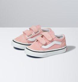 Vans Old Skool V Pink/White