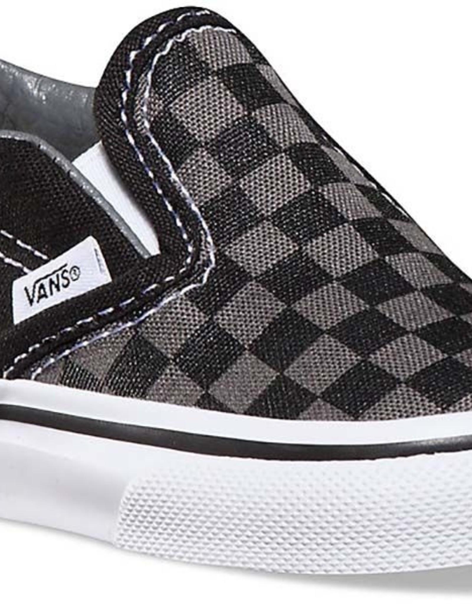 Vans Slip-On Pewter Checkerboard