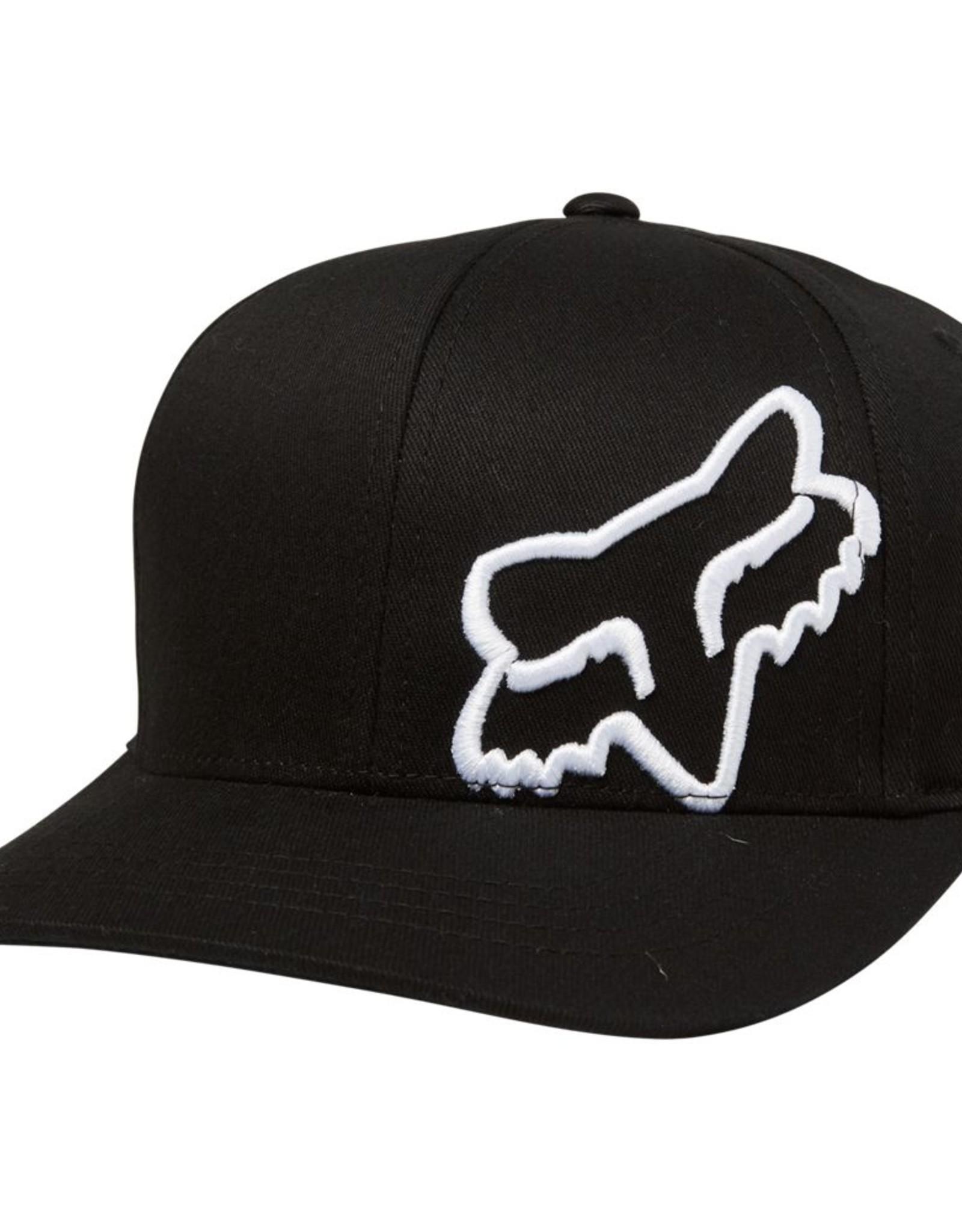 FOX FA21 Blk/Wht Flex 45 Hat 6Y+