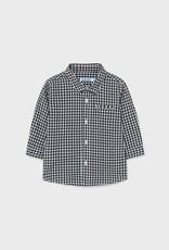 Mayoral FA21 Black Check Shirt