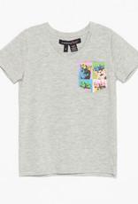 FA21 G Crowned Cats Pocket T-Shirt