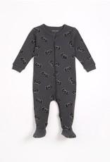 Petit Lem FA21 Bby Bat Zip Sleeper