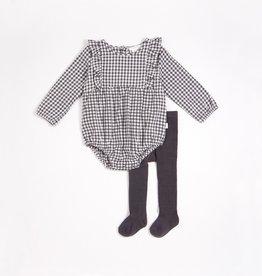 Petit Lem FA21 Check Bodysuit+Legging