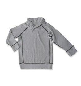 Silkberry FA21 Grey Collar Sweater