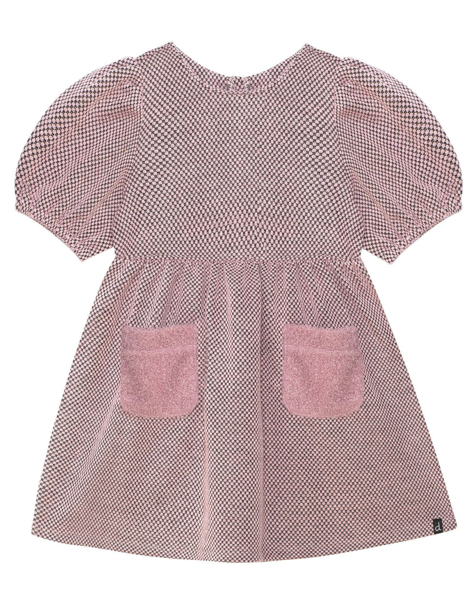 DeuxParDeux FA21 G Pink Dress w/Fur Pockets