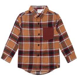 DeuxParDeux FA21 B Red / Brown Plaid Shirt