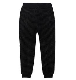 DeuxParDeux FA21 B Black Quilted Sweatpants