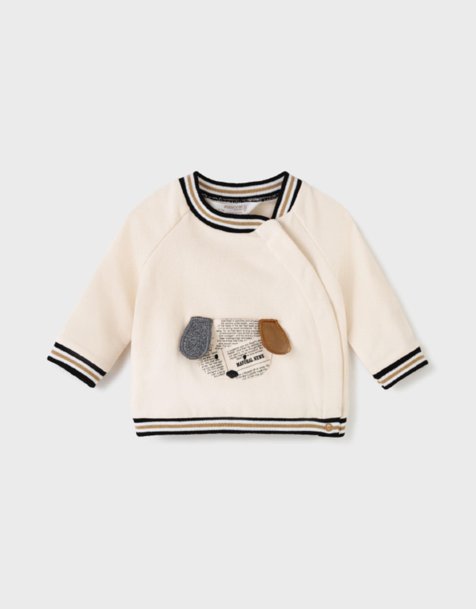 Mayoral FA21 Beige Puppy Sweater