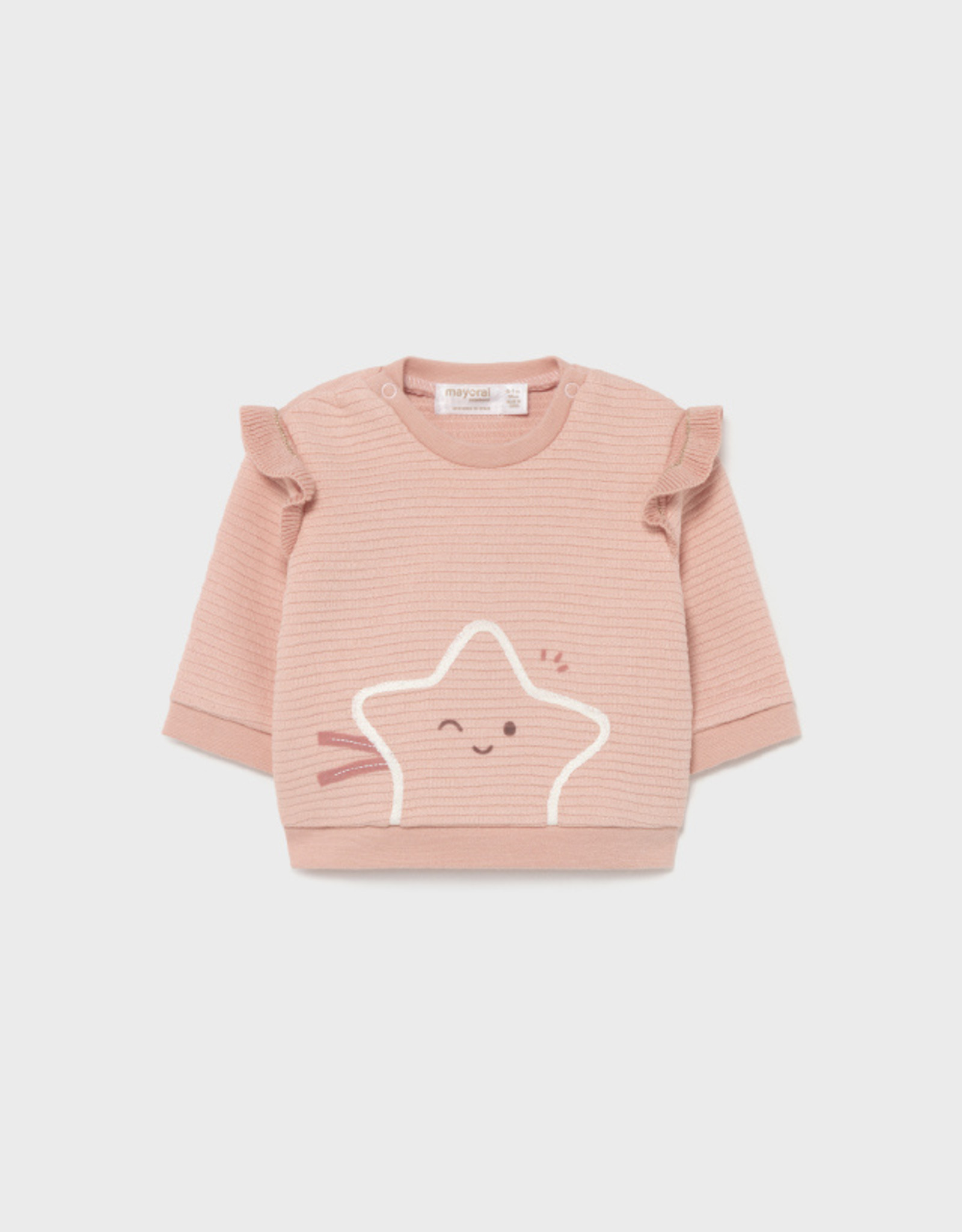 Mayoral FA21 BbyG Pink Star Sweater