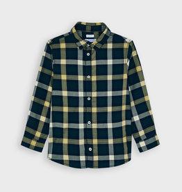 Mayoral FA21 B Navy / Yellow Check Shirt
