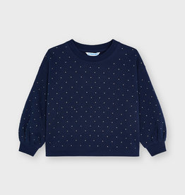 Mayoral FA21 G Navy Studded Top