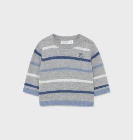 Mayoral FA21 BbyB Grey Sweater