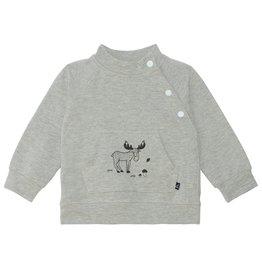 DeuxParDeux FA21 Bby Grey Moose Top