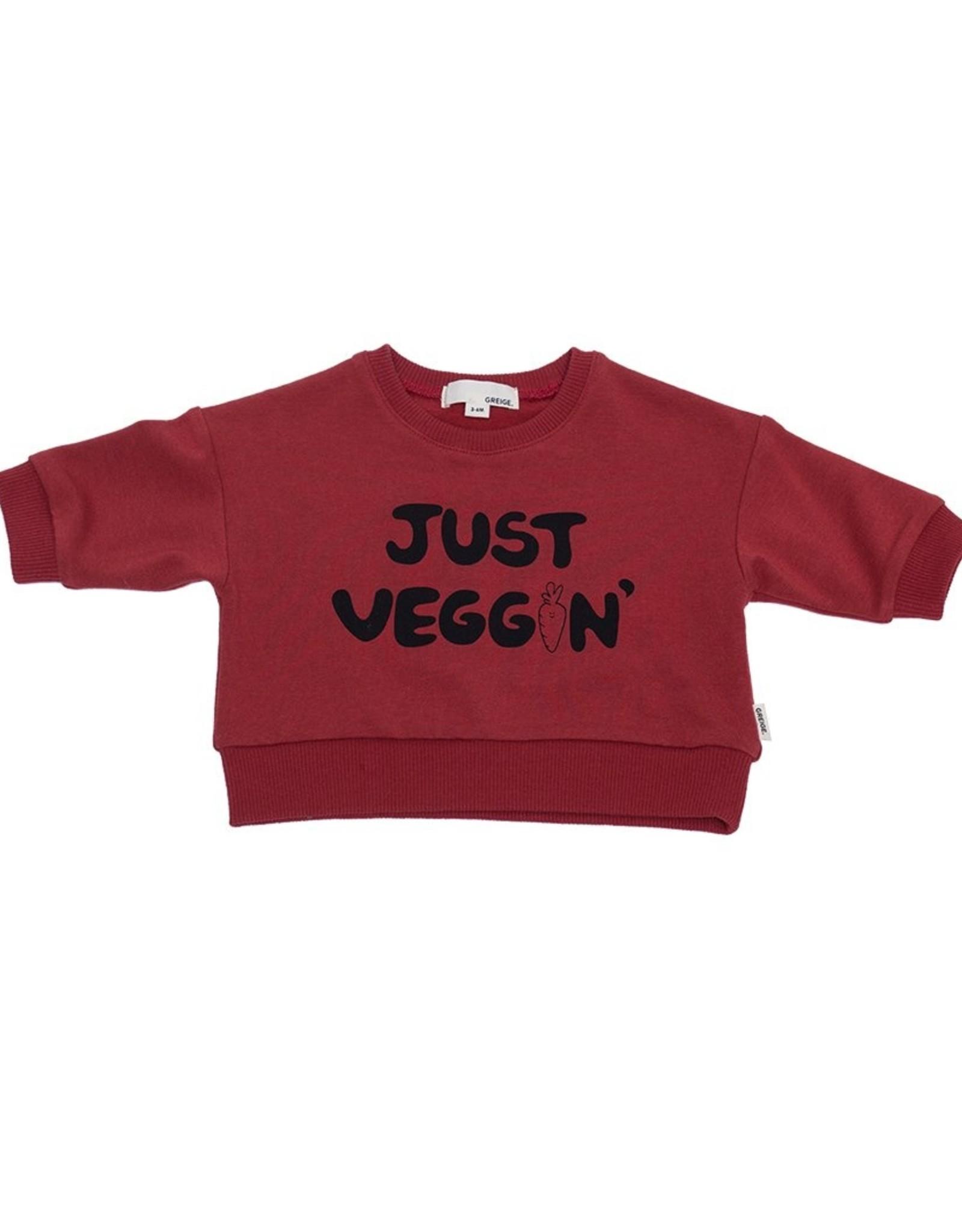 Greige FA21 Just Veggin' Sweatshirt