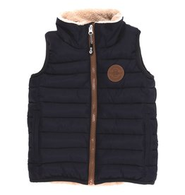 Nano FA21 B Navy Quilted Vest
