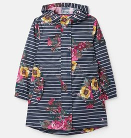 Joules FA21 Golightly Rain Shell - Floral Stripe