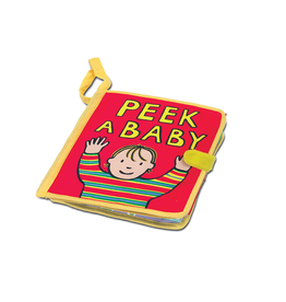 JellyCat Peek A Baby Book