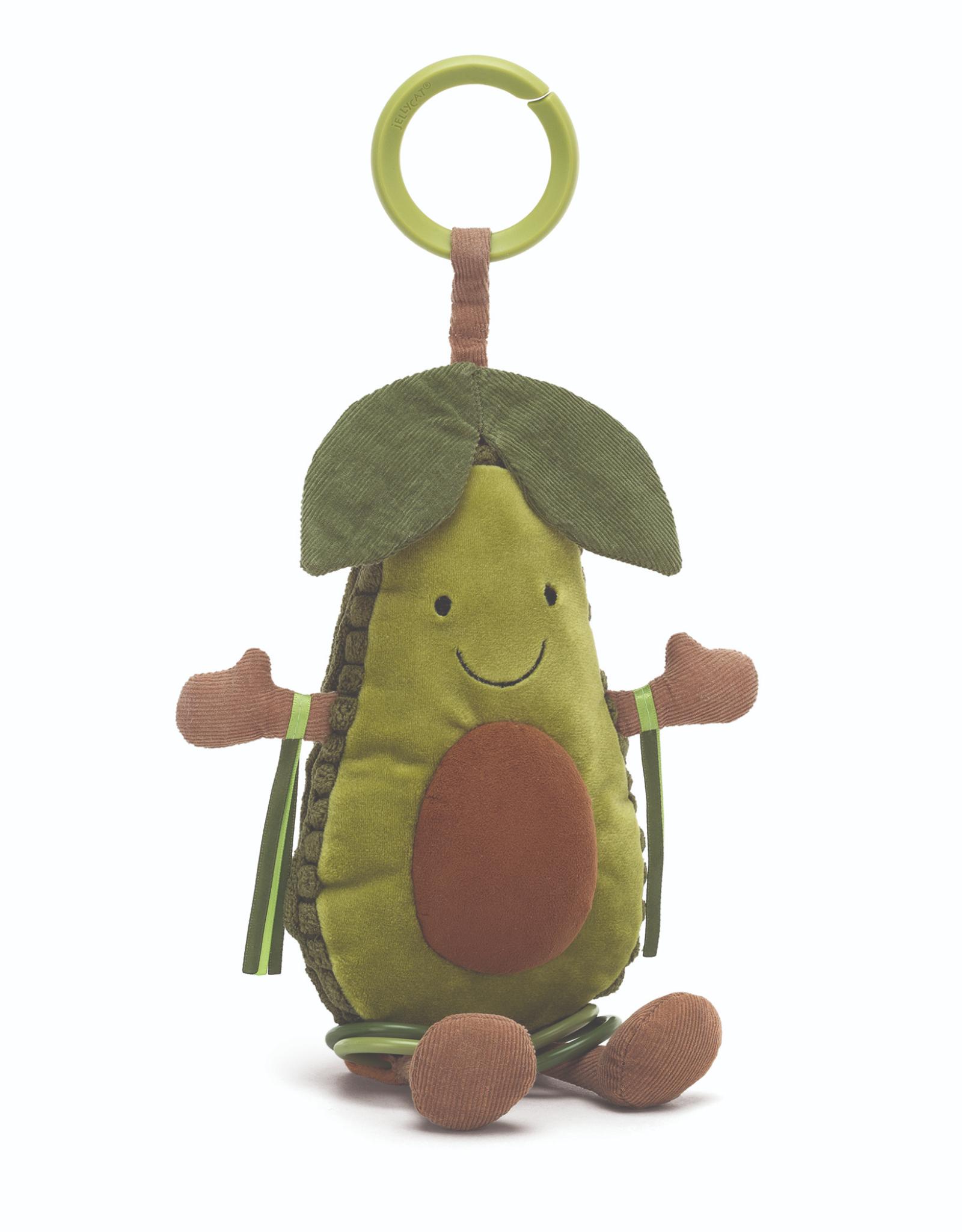 Jellycat Amuseables Avocado Activity Toy
