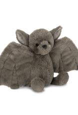 JellyCat Bashful Bat, brown, medium