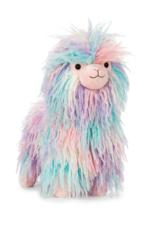 Jellycat Lovely Llama, pastel rainbow, medium