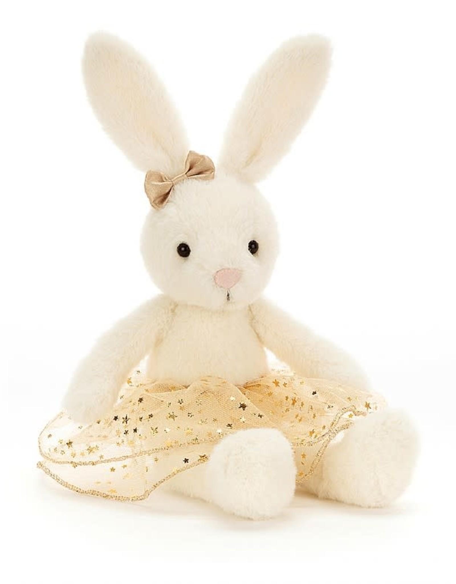 Jellycat Glistening Belle Bunny, Small